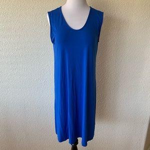 Eileen Fisher Dress T Shirt Midi Long Stretch